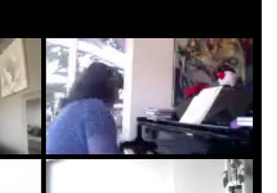 12-7-20 ZOOM REBECCA PLAYING PIANO