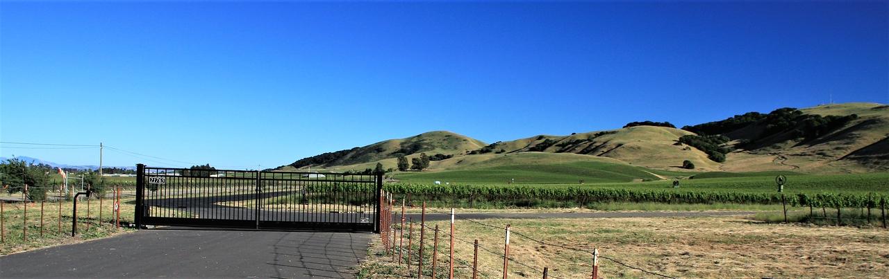 California Farm Along Hwy 101