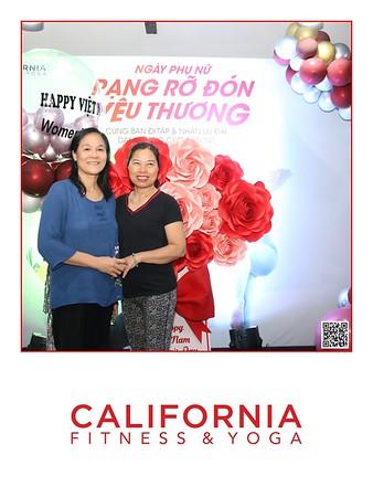 California Fitness & Yoga Hàng Da | Vietnam  Women's Day activation instant print photobooth | Chụp ảnh in hình lấy ngay tại Hà Nội | Photobooth Hanoi