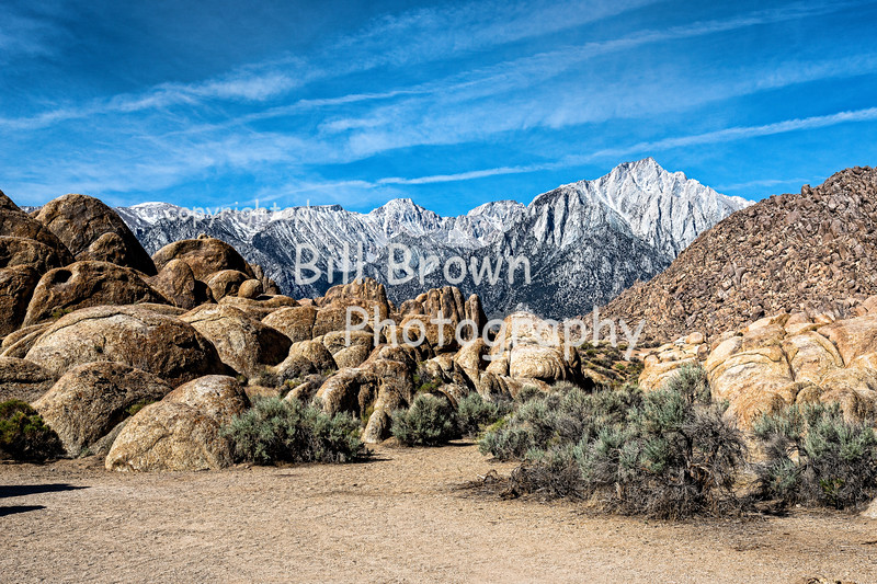 The Sierras from the Alabama Hills
