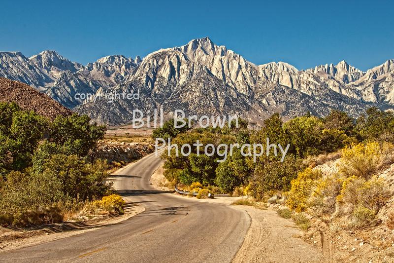Heading Toward the Sierras