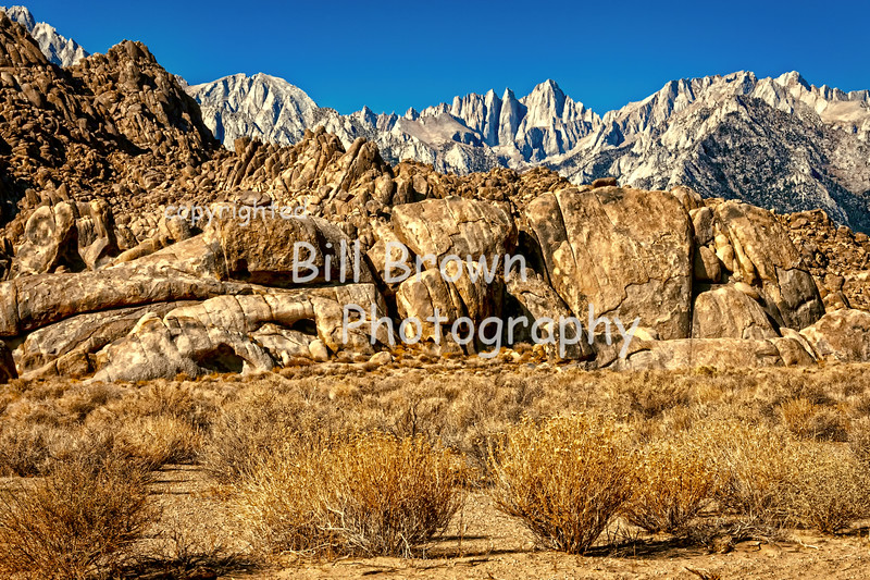 Sierra Rising Beyond the Alabama Hills