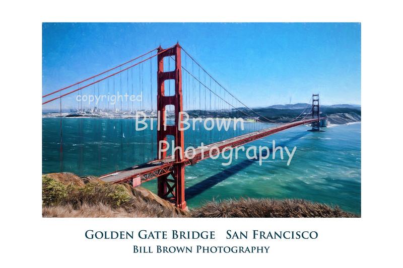 Golden Gate Gallery Print