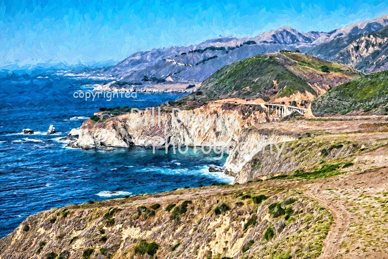 Big Sur with Bixby Bridge