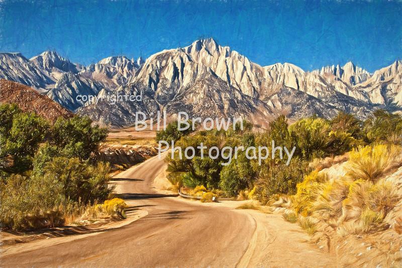 East Side of the Sierras