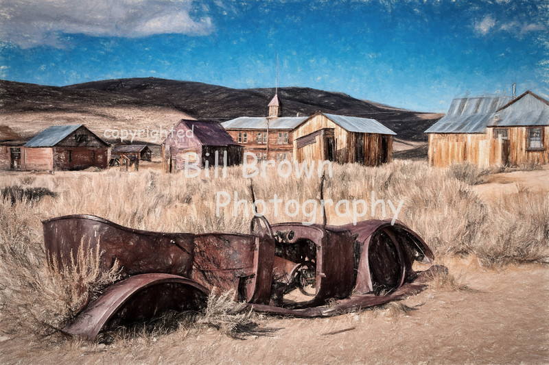 Relic at the Ghost Town of Bodie