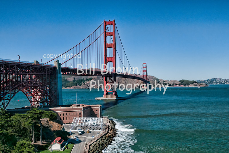 Golden Gate Bridge from San Francisco Side