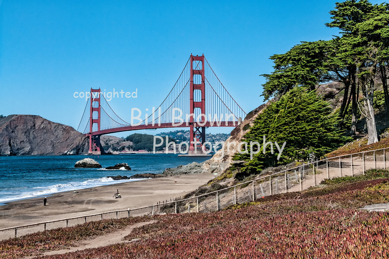 Golden Gate Bridge from San Francisco
