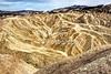 Zabriskie Point at Death Valley