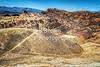 View from Zabriskie Point at Death Valley