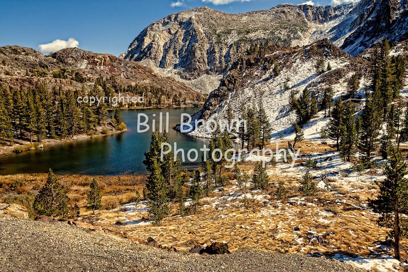 Ealy Snow Fall in Sierra