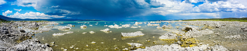 Limestone and Lake, Mono Lake