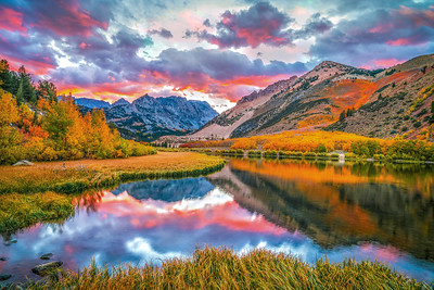 Autumn's Archetype: North Lake Bishop Creek: Elliot McGucken Fine Art Landscape Nature Photography