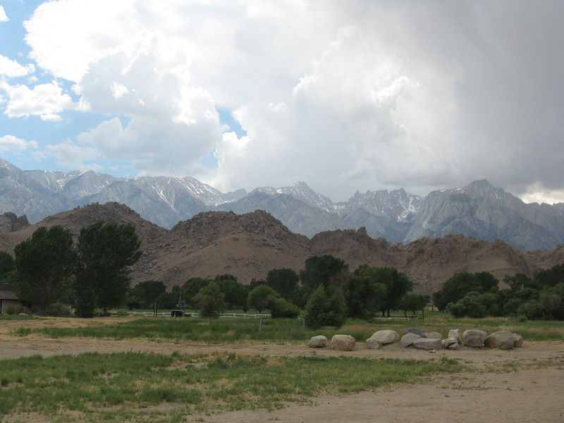 Alabama Hills and Mt. Whitney.