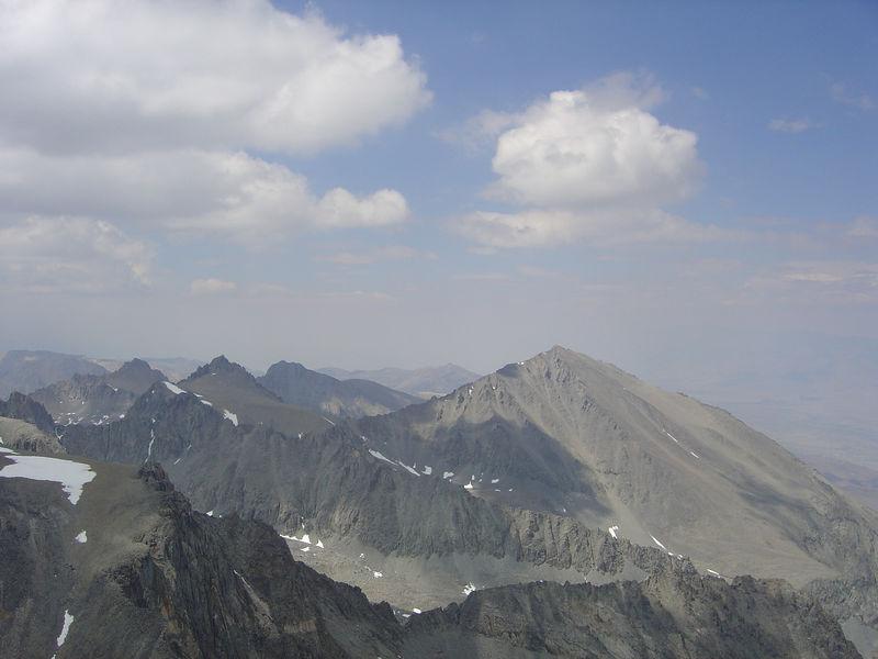 Birch Mountain dominates this NE view.