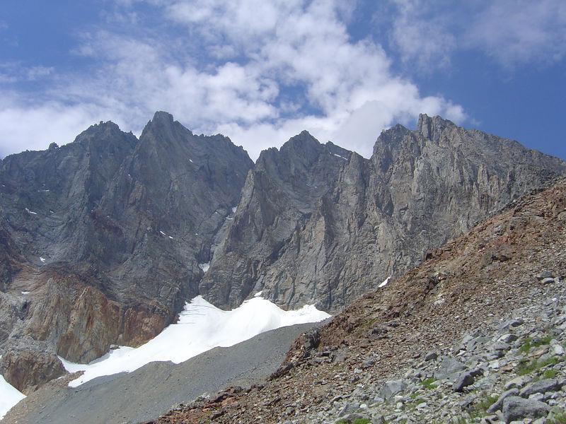 Split Mountain, High Sierra