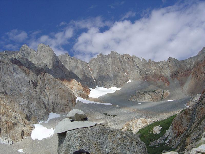 Split Mountain cirque.