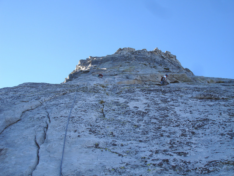 NW Ridge, Tenaya Peak