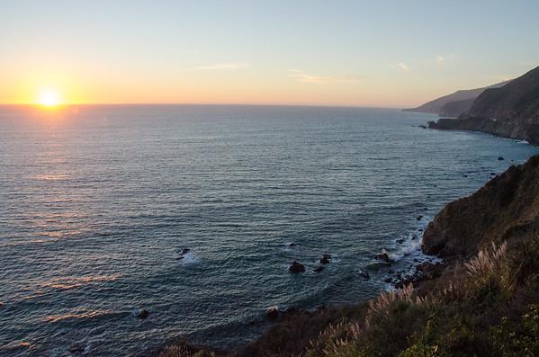 Sunset | A Drive Through Big Sur, California