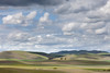 Green Hills, Clouds, and Dappled Light, Livermore CA
