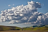 Rolling Landscape and Clouds II, Livermore CA