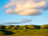 Green Hills and Orange Cloud #5