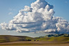Rolling Landscape and Clouds, Livermore CA