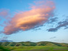 Green Hills and Orange Cloud No. 2