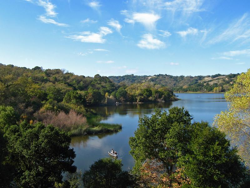 Fishing Lafayette Reservoir, Lafayette CA