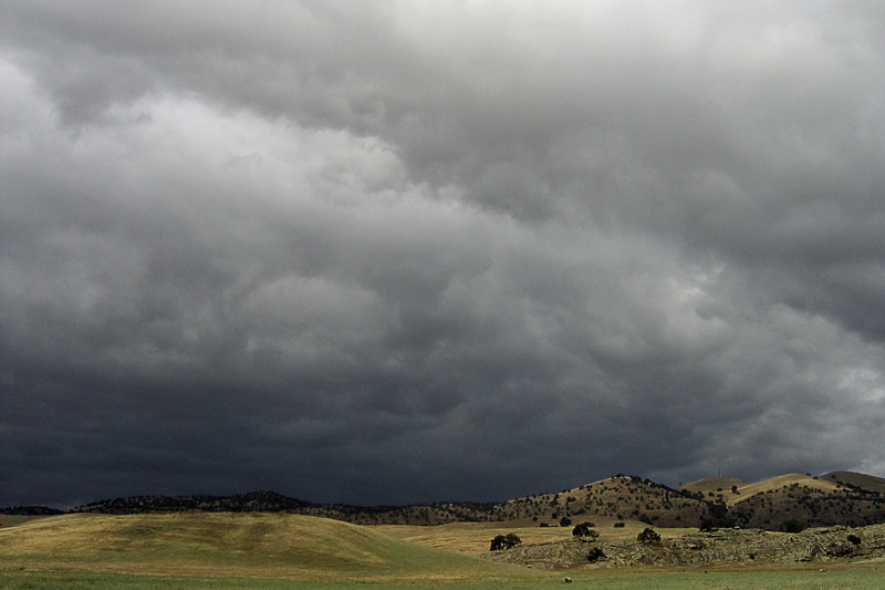 Heavy Sky and Rolling Hills, Glenn County, CA