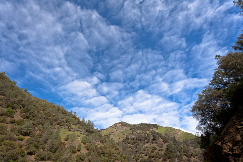 Spring Hills and Clouds, Mariposa County CA