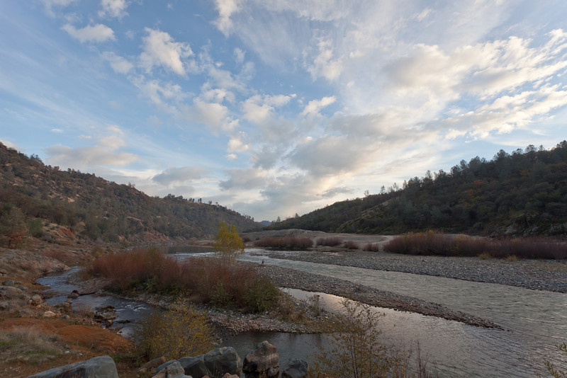 Lower Yuba River Looking Upstream, CA