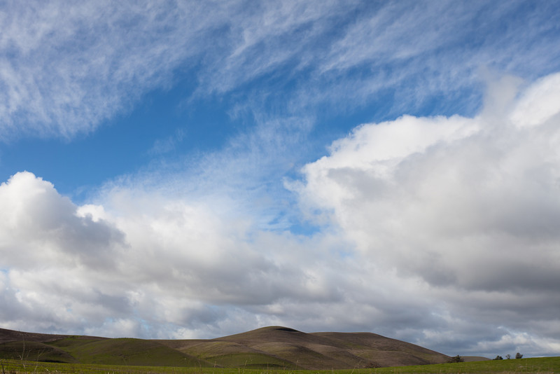 Hills and Clouds, Livermore CA