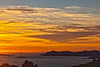 Dramatic Sky over Golden Gate and SF Bay, Berkeley CA