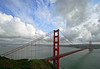 Clearing Winter Storm over the Golden Gate