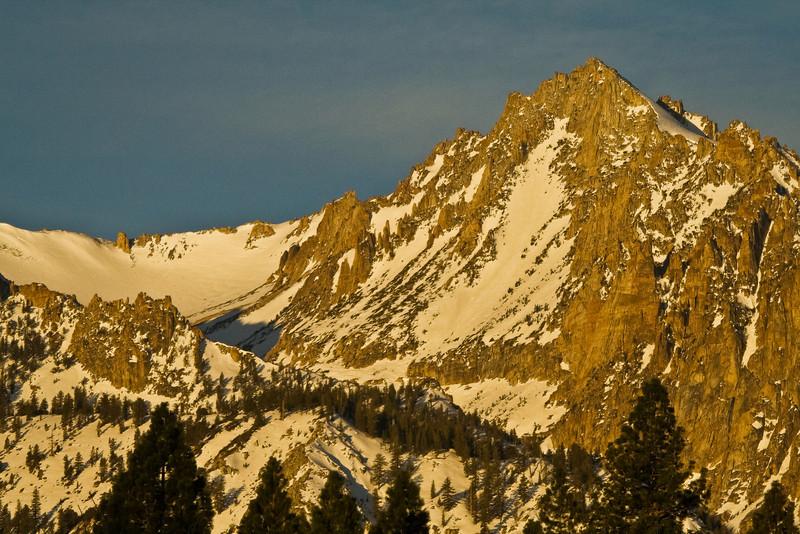Alpenglow, Eastern Sierras, CA