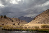 Stormy Sky and Hot Creek, CA
