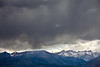 Stormy Skies over Sawtooths, Eastern Sierras, CA
