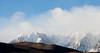 Clouds, Fresh Snow, Valley Hills, Eastern Sierras CA