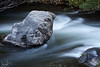 Water Flowing Around Rocks, Rush Creek, CA