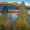First Light on June Lake, Autumn Morning