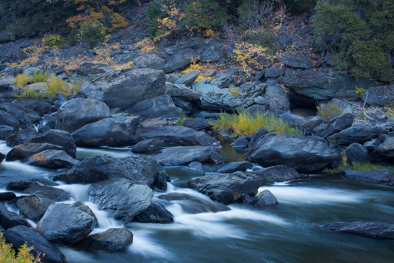 Autumn on Indian Creek, Near Greenville CA