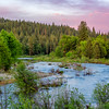 Springtime Sunset, Middle Fork Feather River