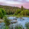 Springtime Sunset, Middle Fork Feather River