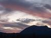 Post-Sunset Clouds over Penman Peak, Graeagle CA