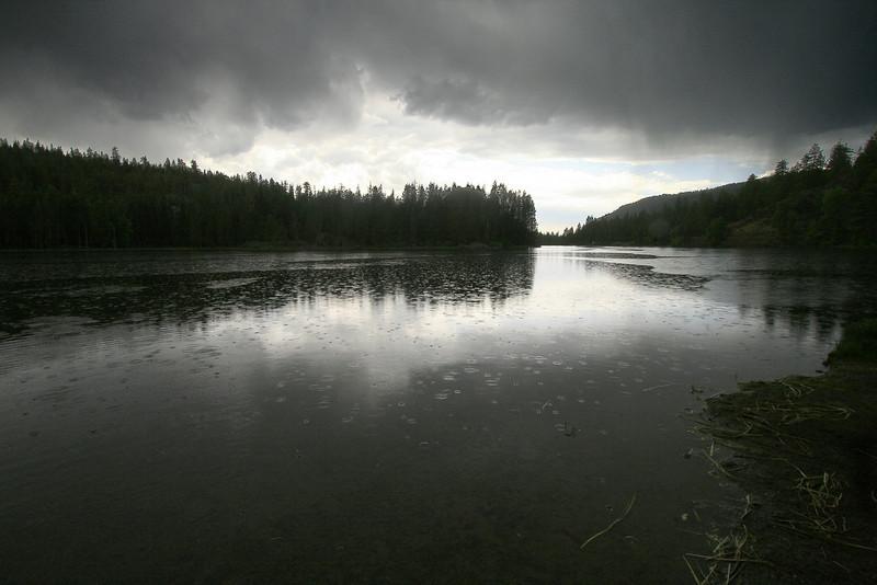 Rainy Day, Milton Reservoir