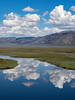 Clouds and Cloud Reflections in the Sierra Valley #3