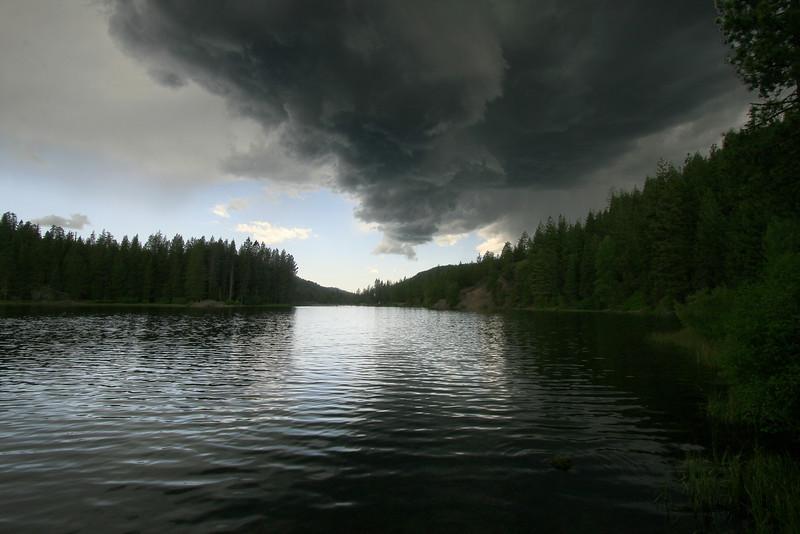Stormy Skies over Milton Reservoir
