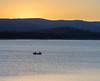 Two Fishermen at Sunset, Lake Davis, Portola CA