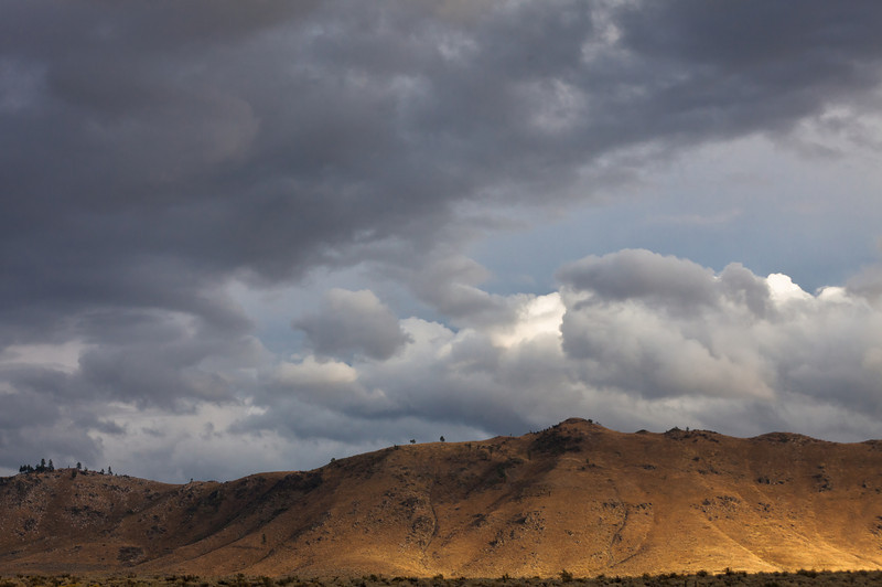 Stormy Weather Passing Through Plumas County